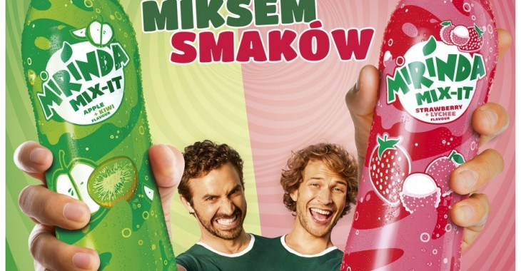 Nowy owocowy mix smaków od Mirindy – MIX-IT