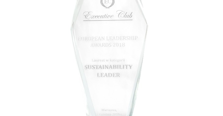 Kompania Piwowarska z nagrodą Sustainability Leader w konkursie European Leadership Awards 2019